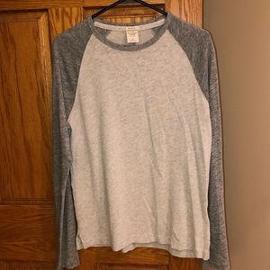 Abercrombie & Fitch long sleeve baseball shirt
